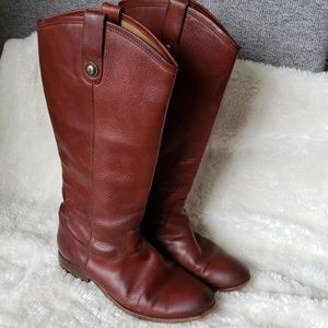 Frye Melissa tall leather boots
